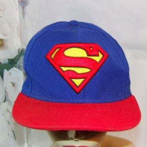 DK-tre Lovely 3D Stereo Embroidered Superman Knit Hat Superman Wool Hat